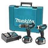 Makita DLX2012X1 7tlg LXT 18V Kombi-Set DHP456/DTD146 3x3,0AH