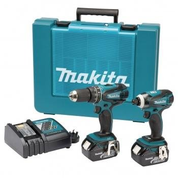 Preisvergleich Produktbild Makita DLX2012X1 7tlg LXT 18V Kombi-Set DHP456/DTD146 3x3,0AH