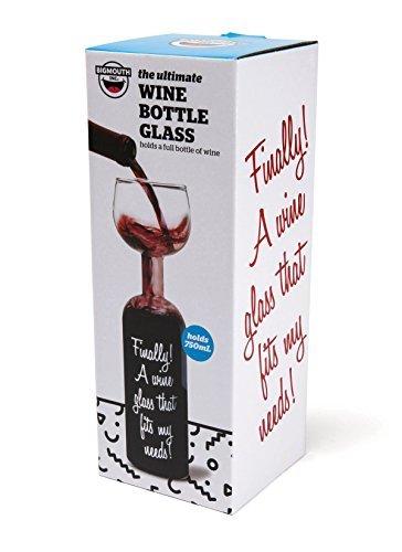 Weinflaschen-Glas-750ml-Kuriositten-Weinglas-Riesen-Weinglas