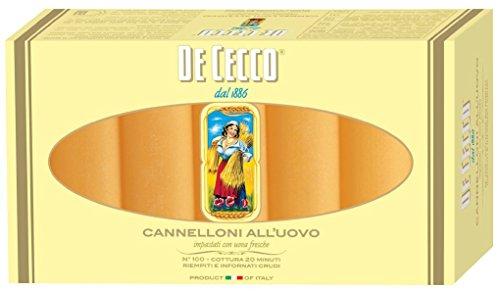 De Cecco Cannelloni all'uovo 100 250gr