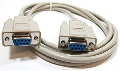 SF Cable, 6 ft DB9 F/F Null Modem Cable RS232
