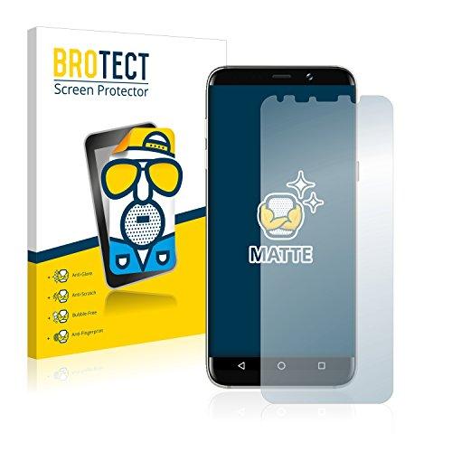 BROTECT Schutzfolie Matt kompatibel mit Bluboo S8 Plus [2er Pack] - Anti-Reflex