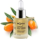 Natural Anti-Ageing face Serum with Aloe vera Panthenol provitamin B5 Ascorbyl Sodium Phosphate Hyaluronic acid and Sea buckthorn oil