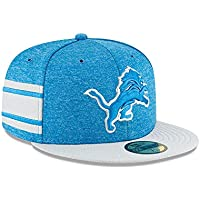 83d1f0f38a0 New Era Detroit Lions NFL Sideline 18 Home On Field Cap 59fifty Fitted OTC