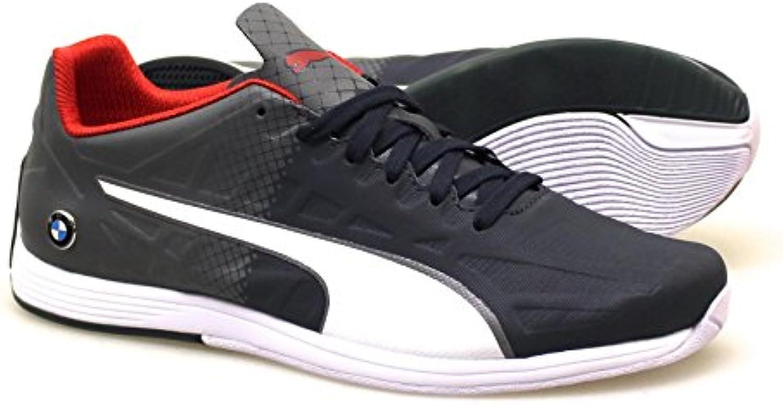 Puma BMW MS evoSPEED LACE 305782 02 Herren Schuhe Motorsport Leder Sneaker