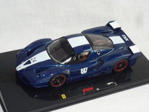 Mattel Ferrari Fxx Enzo Blau Weiss Streifen Nr 24 1/43 Elite Modellauto Modell Auto