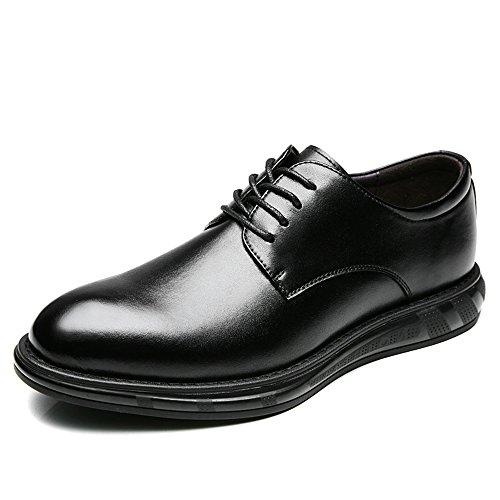 MLMHLMR Wintermode Herren Casual Business Schuhe Spitzenkleid Schuhe Herren Oxford Schuhe Lederschuhe für Herren (Color : Black, Size : 10 D(M) US) -