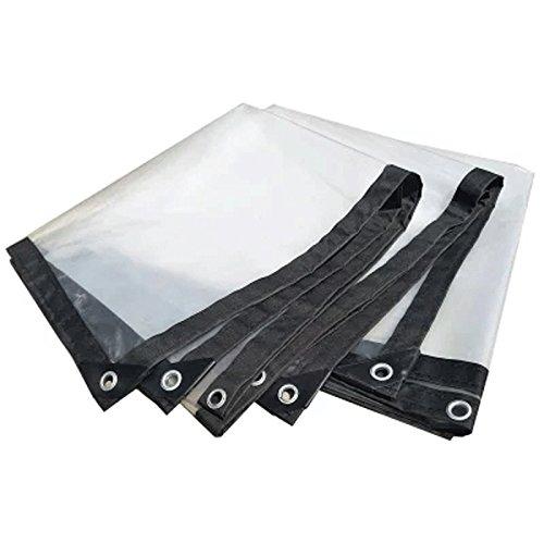 Tarpaulin Wasserdicht Sonnenschutz Transparent Farbe Leinwand Zelt Tuch Regen Plane Auto-Abdeckungen Eine Vielzahl Von Größen ++ (größe : 1x1m)