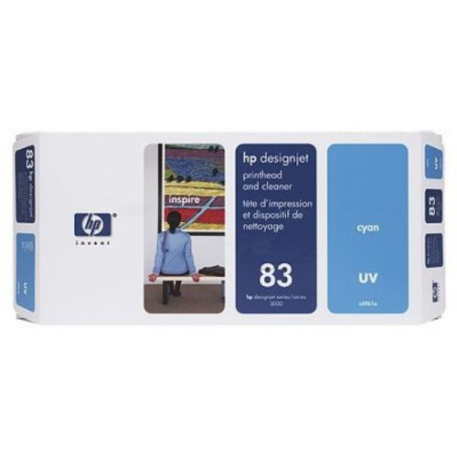 Preisvergleich Produktbild HP Designjet 5000 PS UV Printing Original-Druckkopf cyan