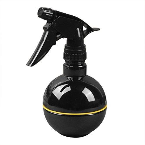BESTOMZ Pulvérisateur en plastique multifonctionnel de bouteille de jet vide pour le jardin de magasin de barbier, récipient réutilisable pour des huiles essentielles / produits de nettoyage (noir)