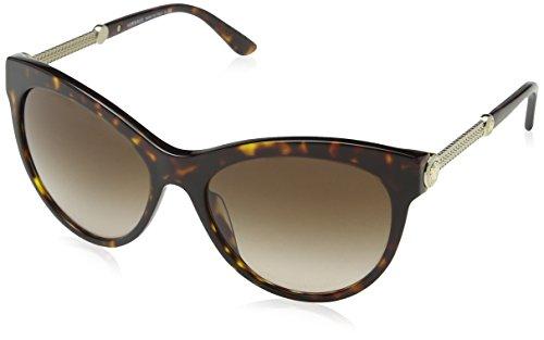 Versace Unisex VE4292 108/13 Sonnenbrille, Braun (Havana), One size (Herstellergröße: 57)