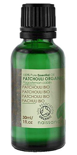 Myrrhe Patchouli (Naissance Patchouli 30ml BIO zertifiziert 100% naturreines ätherisches Öl)