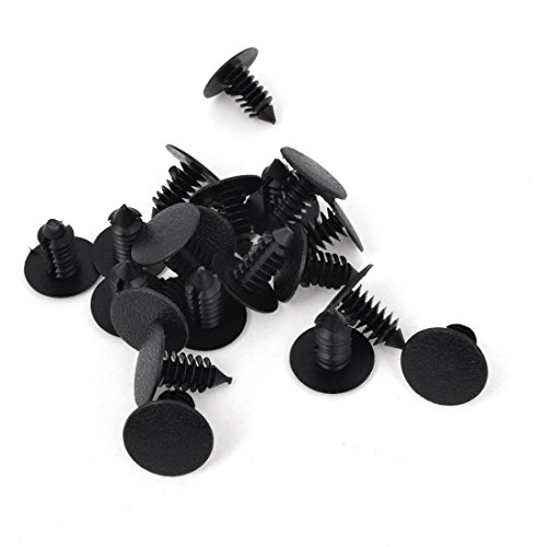 remaches-plasticos-coche-negro-agujero-8-mm-parachoques-sujetador-de-puerta-agarres-20-unidades