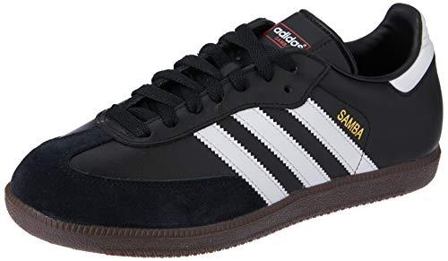 adidas Unisex-Erwachsene Fußballschuh Samba Low-Top Sneakers, Schwarz (Black/running White Footwear), 48 2/3 EU