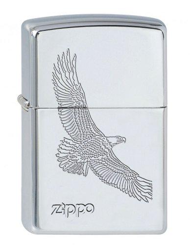 Zippo Sturmfeuerzeug 60001329 EAGLE CHROME 1110001