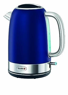 Breville VKJ822X Opula Bleue Bouilloire Chauffe-eau Électrique 1.7 litres 2400 Watts Bleu