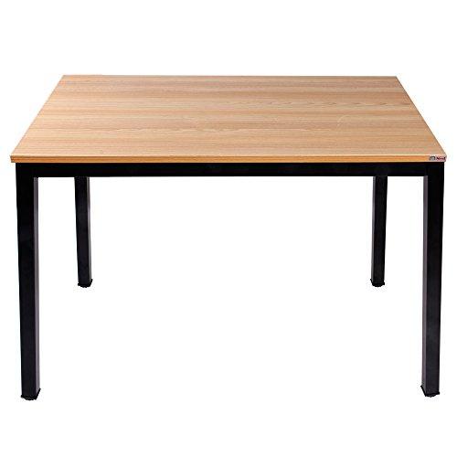 Kleinen Schwarzen Granit Top (Need Modern Esstisch 100x60 cm Esszimmertisch Küchentisch Tisch klein, Teak Eiche Farbe AC3BB-100)