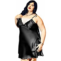 18e99d464c4d9 Nine X -Hot Satin and Lace Babydoll S-6XL 8-26