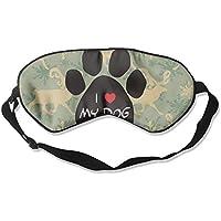 Love My Dog 99% Eyeshade Blinders Sleeping Eye Patch Eye Mask Blindfold For Travel Insomnia Meditation preisvergleich bei billige-tabletten.eu