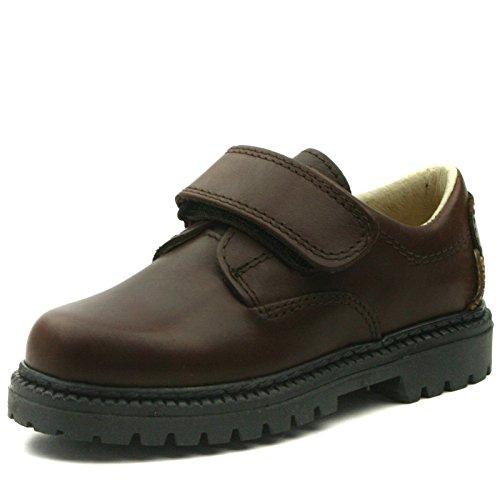 SIR Step2wo School Shoe Velcro Strap for Boys >     > École chaussures velcro pour les garçons Brown (marron)