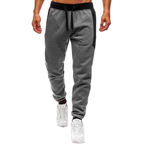 Pantalón Hombre Casual Jogging Algodón Pantalones