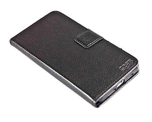 caseroxx Tasche Case Hülle Bookstyle-Case für Medion Life X5004 MD 99238 in schwarz
