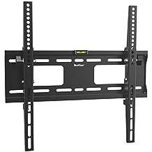 Qualgear qg-tm-00194cm a 177,8cm universale ultra slim Low Profile Picture Hanging Style fune montaggio a parete e a LED, in acciaio INOX