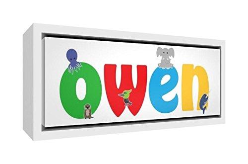Little Helper Napperon avec Coaster Style Illustratif Coloré avec le Nom de Jeune Garçon Camille