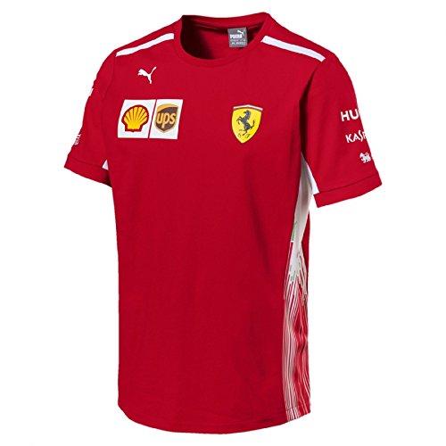 Puma Herren SF Team Tee T-Shirt, Rosso Corsa, S