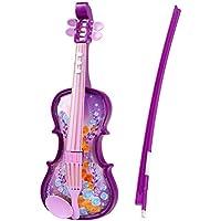 E Support™ Kinder Violine Kinderspielzeug Musikerziehung Instrumente Kinder Geschenk Lila