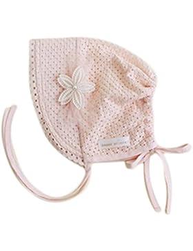kanggest piccole fiori principessa Cap bambini cappello di protezione solare di cotone con pizzo per bambina (...