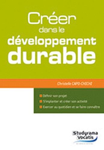 Créer dans le développement durable