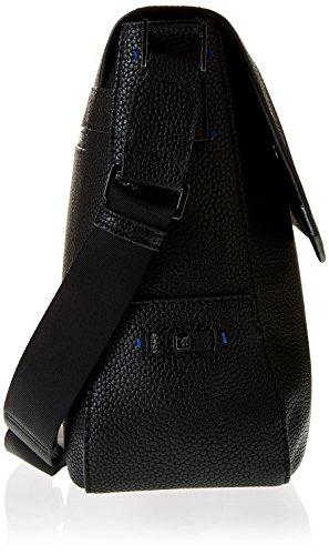 Trussardi Jeans sac d'épaule unisex noir