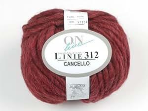 Coton: Lignes, 312, Cancello, col. 008, 50g/40m Mèche en tricot fil