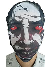 SMO Masque Skull Hat Adulte Halloween Costume unisexe COS Zombie Diable Ghost Face Full MK-T6