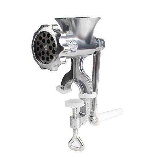 Fleischwolf elektrische Wurstmaschine Edelstahl Küche Home Gusseisen manuelle Fleischmühle Tisch Hand Mincer auf Schreibtisch außerhalb Reisen