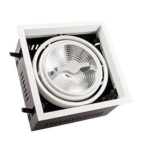 Foco LED CREE-COB Direccionable AR111 15W Regulable Blanco Neutro 4000K efectoLED