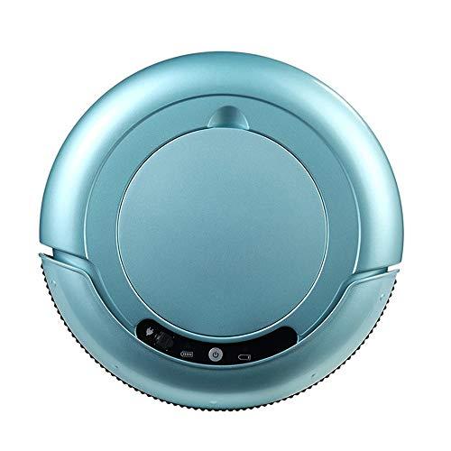 Roboterstaubsauger, 1000Pa Self Sweeping Wopping Roboter für Teppichboden,Blue