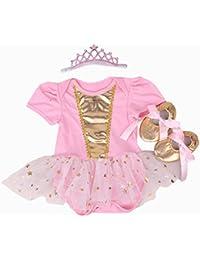 Faldas de Tutú Para el Vestido de Cumpleaños de Muñecas de 20-22 inch Ropa