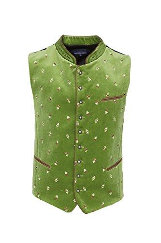 Stockerpoint - Herren Trachten Weste in verschiedenen Farbtönen, Calzado, Größe:56, Farbe:Hellgrün