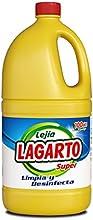Lagarto Lejía Normal - Paquete de 8 x 2000 ml - Total: 16000 ml