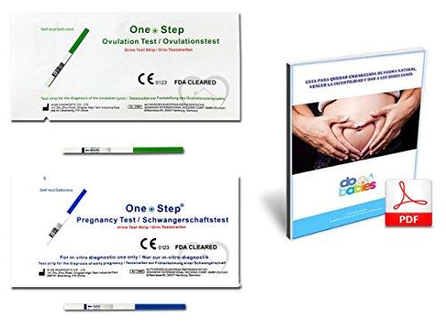 One Step–40x Test-ovulacion/Fruchtbarkeit (LH) 20mlU/ml, Teststreifen ovulacion Vitro