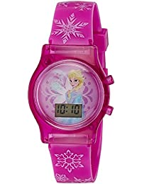 Disney Digital Multi-Colour Dial Girl's Watch - DW100478