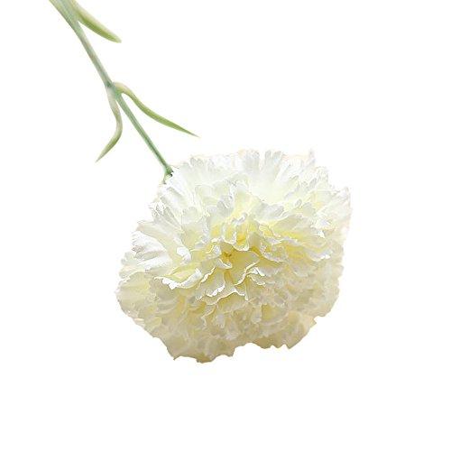 OSYARD Wohnaccessoires & Deko Kunstblumen,Unechte Blumen,Künstliche Deko Fake-Blumen Carnations Gefälschte Blumen Hochzeit Bouquet Party Garten Wohndekor DIY Blumenschmuck Blumenstrauß