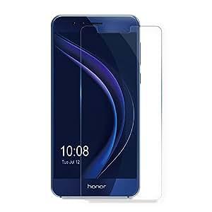 Honor 8 Pellicola Protettiva, AICEK Huawei Honor 8 Screen Protector Toccare Compatibile Pellicola Protettiva ultra resistente in vetro temperato per Honor 8 Vetro con Durezza 9H Trasparenza ad alta definizione