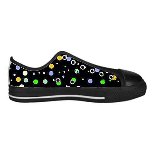 Dalliy des pois Men's Canvas Shoes Lace-up High-top Footwear Sneakers Chaussures de toile Baskets A