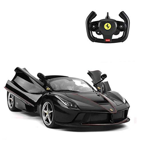 RASTAR RC Cars Ferrari Aperta Rc Auto automobili di telecomando 1:14 Scala Veh4.8V Dedicato ricarica pack caricabatterie USB Rc auto per adulti e bambini Nero