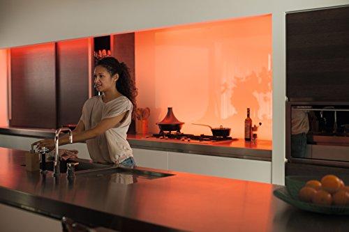 Philips Hue LightStrip+ 16 Mio Farben, EEK A, Erweiterung für Basis Set, 1m, ultrahell max 800 Lumen - 6