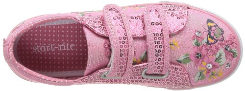 Start Rite Botanical Mädchen Sneaker Pink (Rose (Pink Sparkle Canvas))