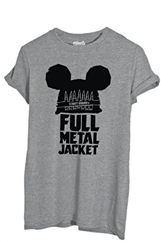 T-Shirt FULL METAL JACKET - FILM by iMage Dress Your Style - Bambino-XL-GRIGIO SPORT